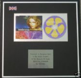 MADONNA  - CD single Award- BEAUTIFUL STRANGER